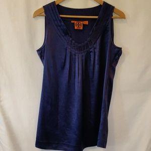 Tori Burch Purple 100% silk Cami Size 4